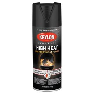 Krylon High Heat Satin Black 1618