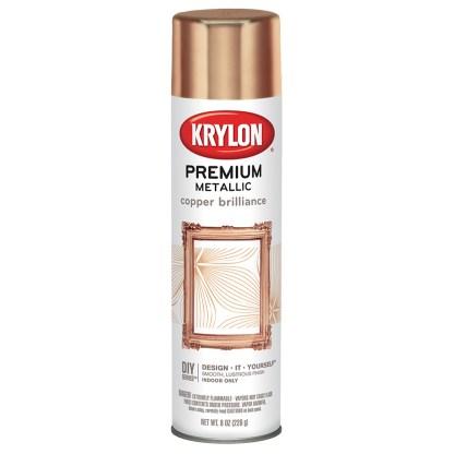 Krylon Premium Metallic Copper Brilliance 1020 аэрозольная краска