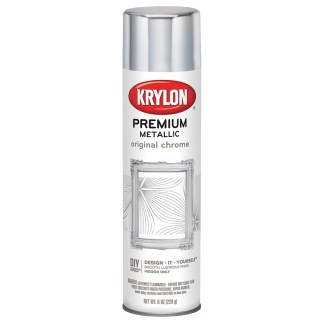 Krylon Premium Metallic Original Chrome 1010