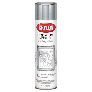 Krylon Premium Metallic Sterling Silver 1030