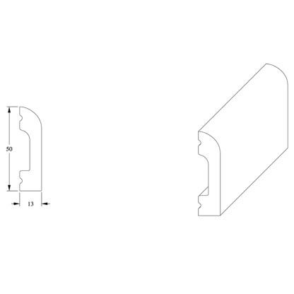 Универсальный профиль Orac Decor SX182 CASCADE
