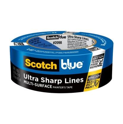 3M ScotchBlue Platinum Painter's Tape 36 mm малярный скотч деликатный