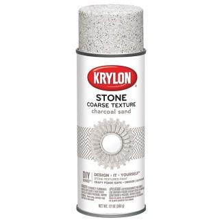 Krylon Coarse Stone Charcoal Sand 18202