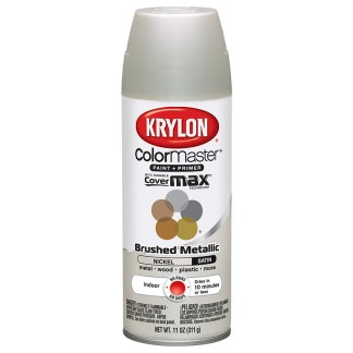 Krylon Colormaster Brushed Metallic Brushed Nickel 51255