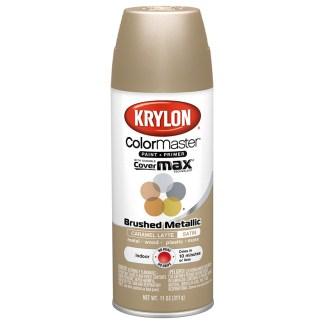 Krylon Colormaster Brushed Metallic Caramel Latte 51250 Аэрозольная краска-грунт
