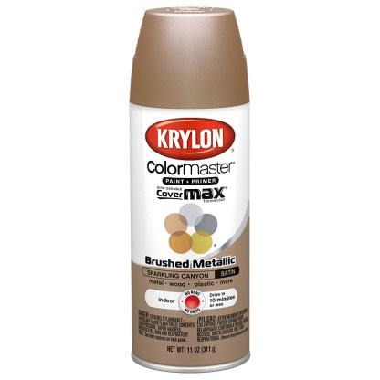 Krylon Colormaster Brushed Metallic Sparkling Canyon 51252