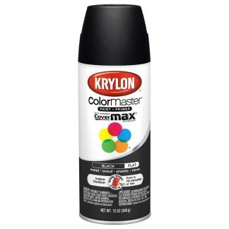 Krylon Colormaster Flat Black 51602