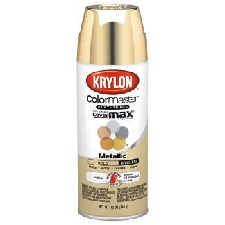 Krylon Colormaster Metallic Gold 51510 аэрозольная краска-грунт