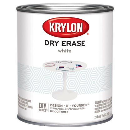 Krylon Dry Erase White Quart 3943 покрытие маркерная доска
