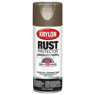Krylon Rust Protector Hammered Dark Bronze 69323