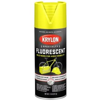 Krylon Specialty Fluorescent Lemon Yellow K03104888 флуоресцентная краска в баллончиках