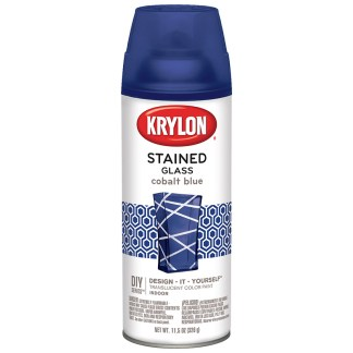 Krylon Stained Glass Cobalt Blue 9036