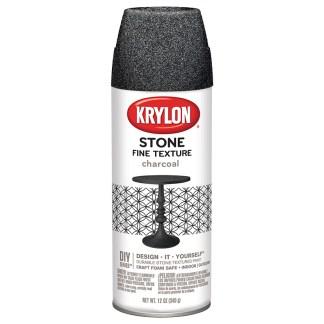 Krylon Stone Fine Texture Charcoal 3704