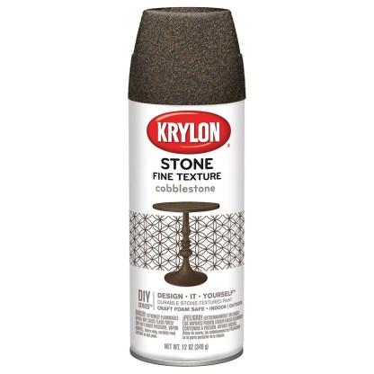Краска в баллончиках Krylon Stone Fine Texture Cobblestone 3701