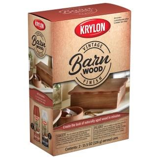 Krylon Vintage Finish Barn Wood K0843107