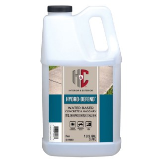 H&C HYDRO-DEFEND WATER-BASED CONCRETE & MASONRY WATERPROOFING SEALER