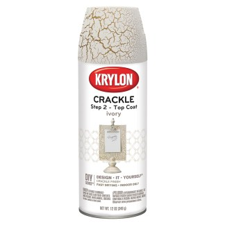 Krylon Crackle Step 2 Top Coat