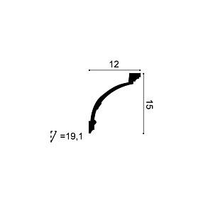 Карниз из полиуретана Orac Decor C218