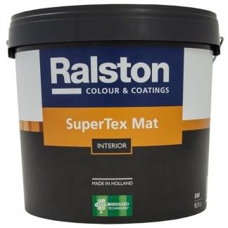 Ralston SuperTex Mat моющаяся краска для стен