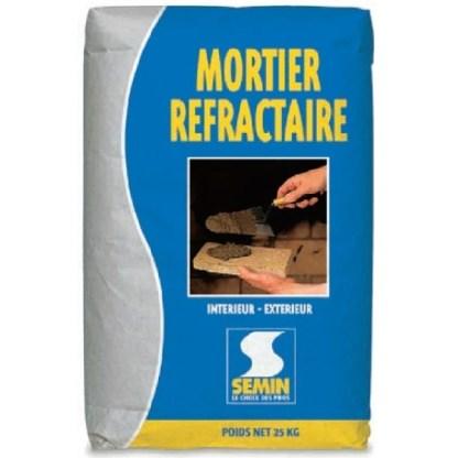 Огнеупорный клей Semin Mortier Refractairе