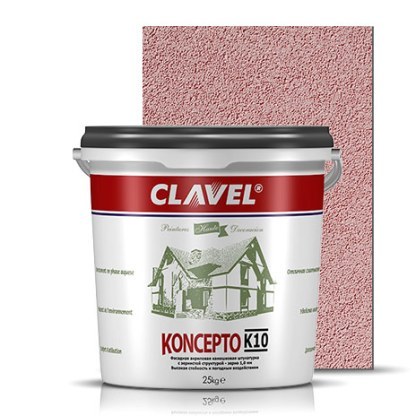 Clavel Koncepto K10 Фасадная штукатурка