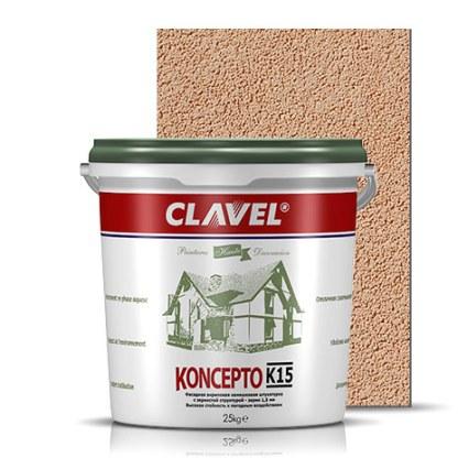 Clavel Koncepto K15 Фасадная штукатурка