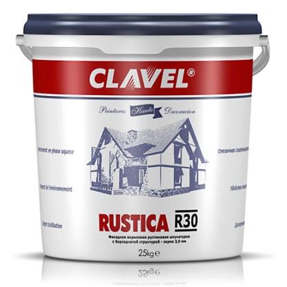 Clavel Rustica R 30 Фасадная штукатурка