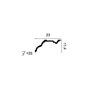 Карниз из полиуретана Orac Decor C332 NOBLESSE