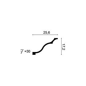 Карниз из полиуретана Orac Decor C337
