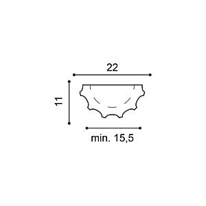 Полуколонна из полиуретана Orac Decor K1001