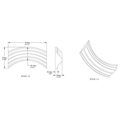 Молдинг из полиуретана Orac Decor P4020A