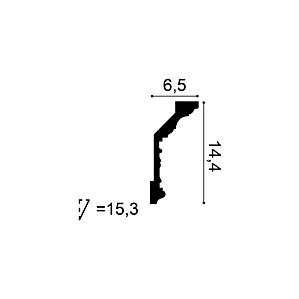 Карниз из полиуретана Orac Decor C303