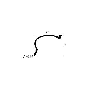 Карниз из полиуретана Orac Decor C343 HERITAGE XL