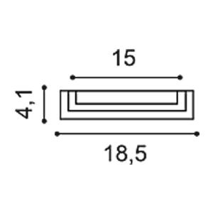 База пилястры из полиуретана Orac Decor K202
