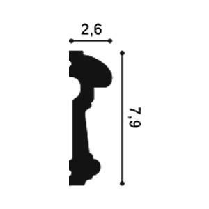 Молдинг из полиуретана Orac Decor P7040