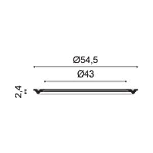 Потолочная розетка из полиуретана Orac Decor R66