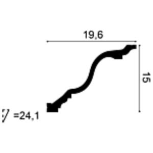 Карниз из полиуретана Orac Decor C334