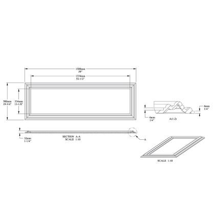 Декоративная панель Orac Decor W120 AUTOIRE