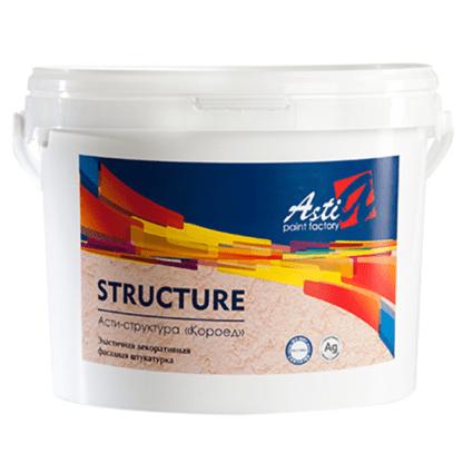 Фасадная штукатурка АСТИ Структура КОРОЕД