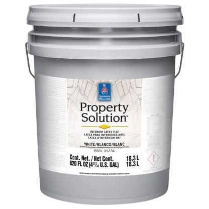 Sherwin-Williams Property Solution Interior Latex Flat интерьерная латексная краска