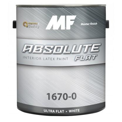 Краска для стен и потолков MF Paints Absolute Flat 1670