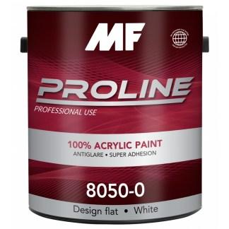 Моющаяся краска для стен и потолков MF Paints Proline Red 8050