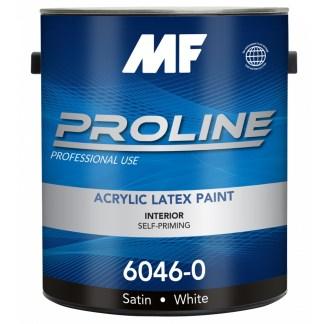 MF Paints Proline Blue 6046 сатиновая краска для стен