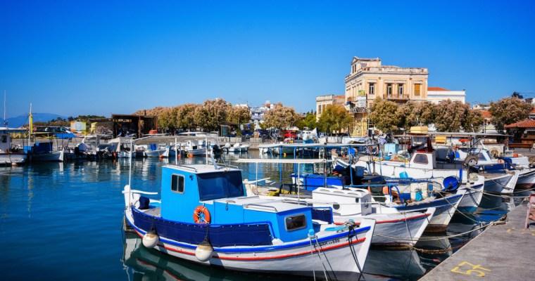Aegina Island, the Sleeping Beauty
