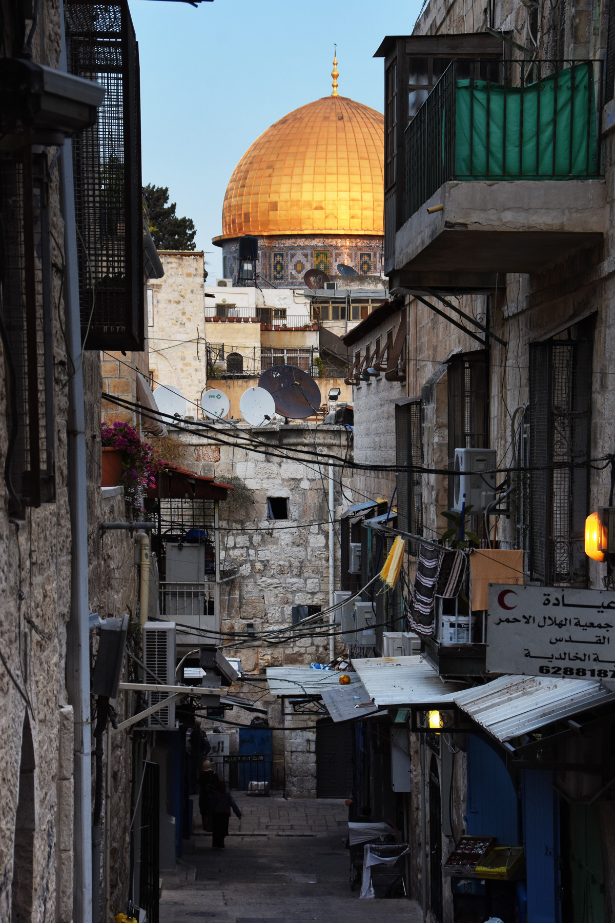 Arriving in the Holy Land and Jerusalem – finally!