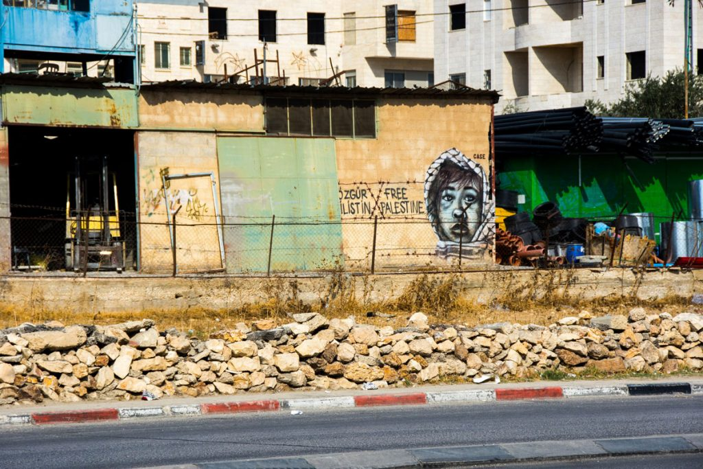 Street Art West Bank Bethlehem