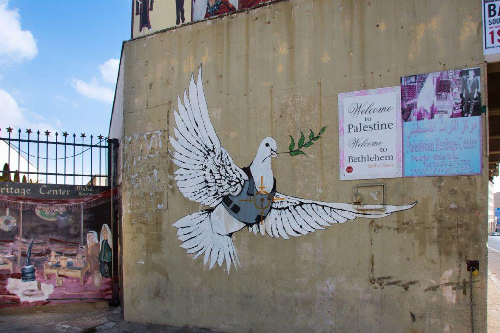 Street Art West Bank Bethlehem Banksy