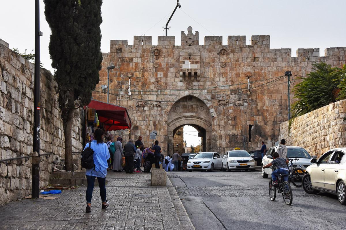 Lion Gate Jerusalem