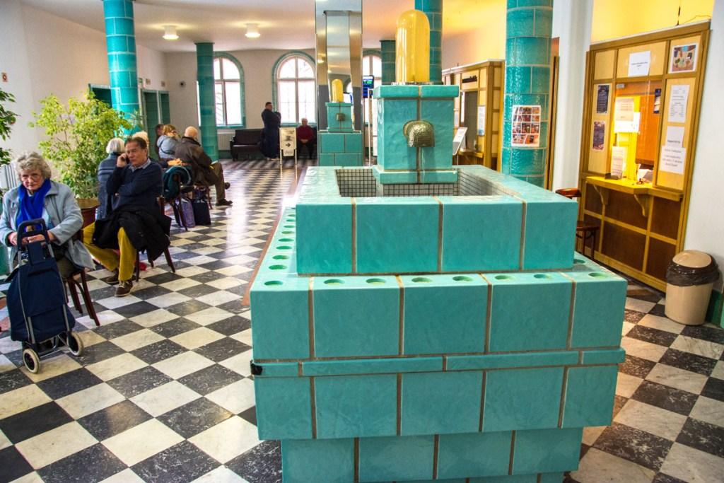 Lukasz Baths in Budapest