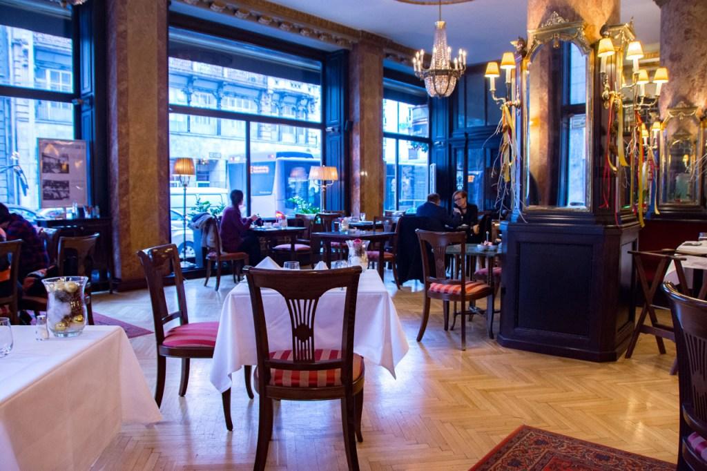 Cafe Astoria Budapest